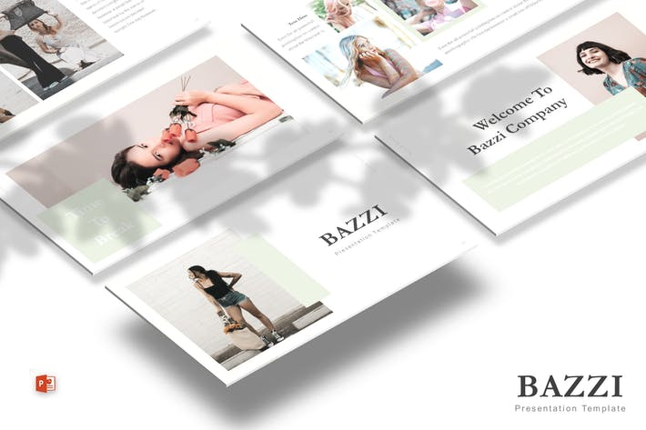 Thumbnail for Bazzi - Powerpoint Template