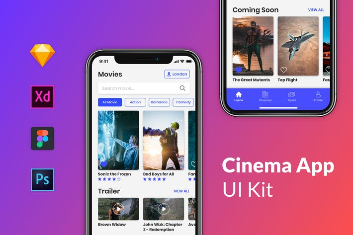 Thumbnail for Nuzie - Cinema App Kits