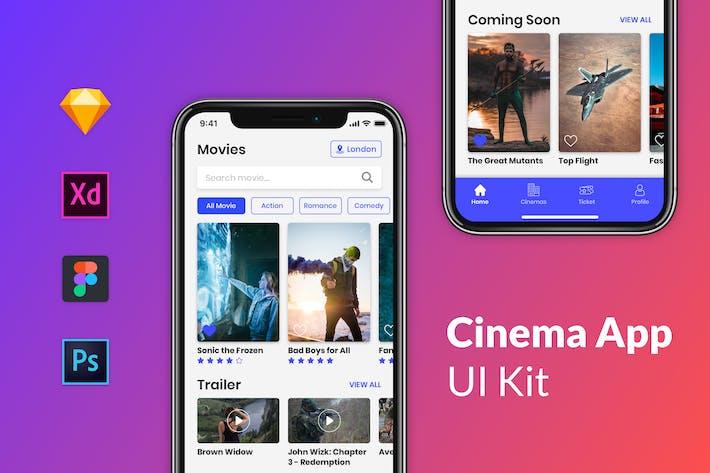 Cinema App Kits - Nuzie