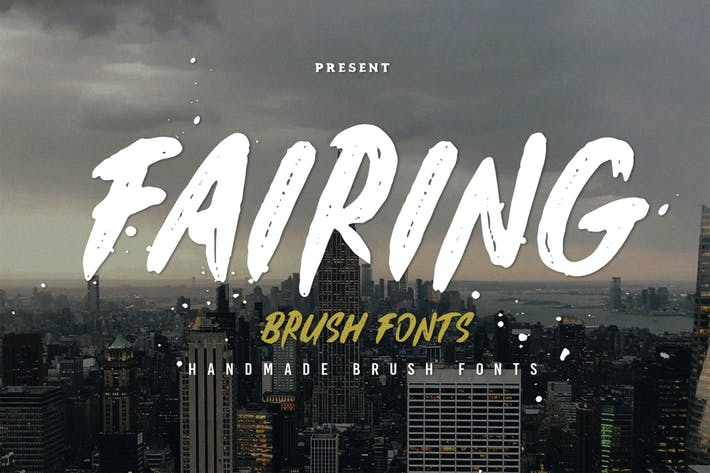 Thumbnail for Fairing Typeface
