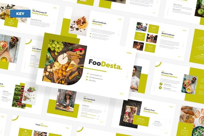 FooDesta Healthy Food - Keynote UP