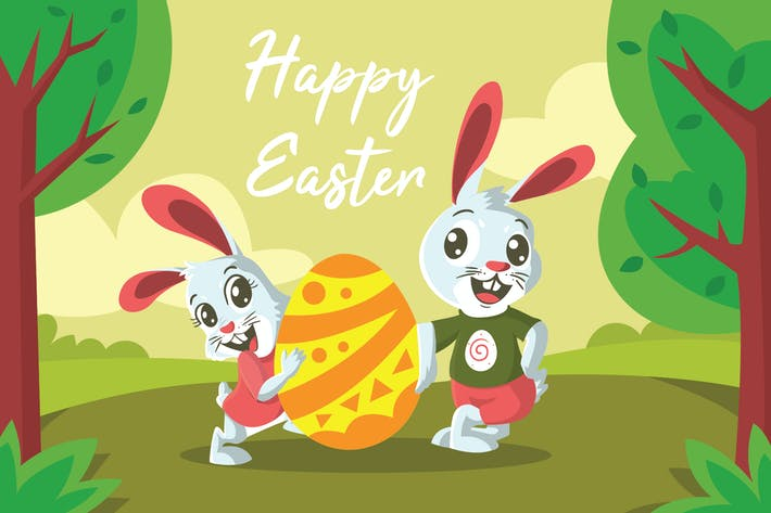 Thumbnail for Easter Day - Vector Illustration