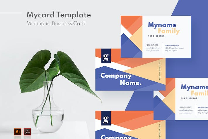 Thumbnail for Mytemp - Minimalist Business Card v13