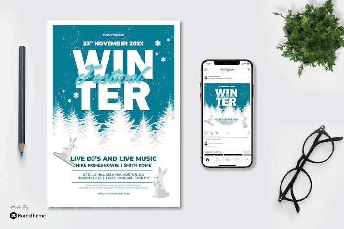 Thumbnail for Fête d'hiver - dépliant AS