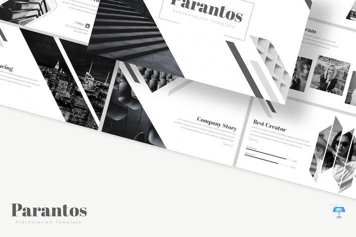 Thumbnail for Parantos - Keynote Template