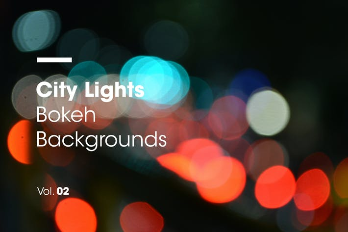 Thumbnail for City Lights | Bokeh Backgrounds | Vol. 02