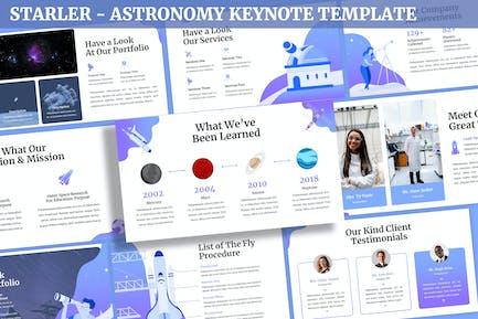 Starler - Plantilla de Keynote de astronomía