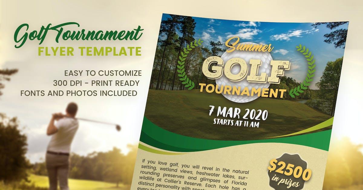 Golf Flyer by brandifystudio on Envato Elements