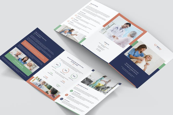 Thumbnail for Brochure – Senior Care Tri-Fold A5