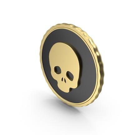 Logo Skull Gold