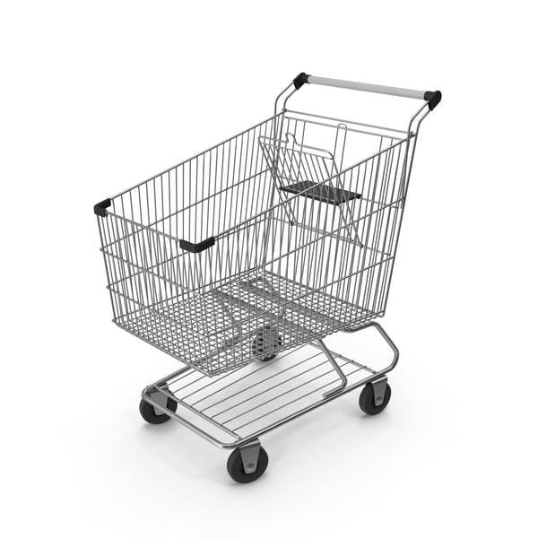 Shopping Сart with Black Plastic