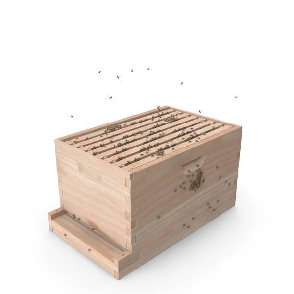 Thumbnail for Brood Box Cedar 8 Frames