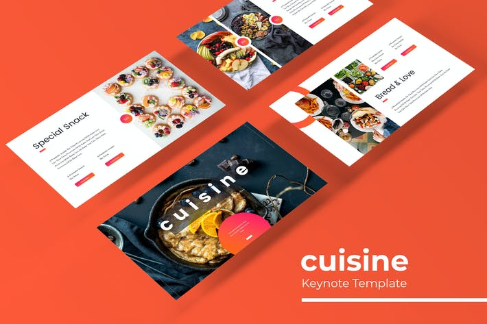 Thumbnail for Cuisine - Keynote Template
