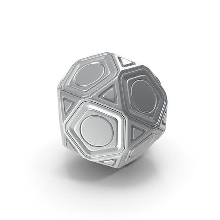 Bola de metal de decoración