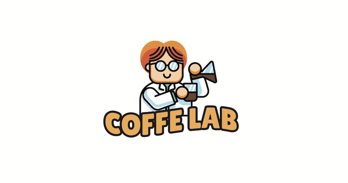 Download Coffee Lab - Mascot Logo by aqrstudio