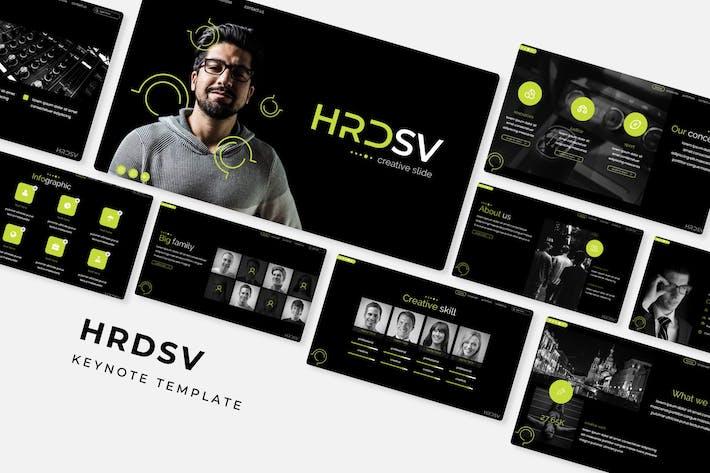 Cover Image For Hrdsv - Plantilla de Keynote