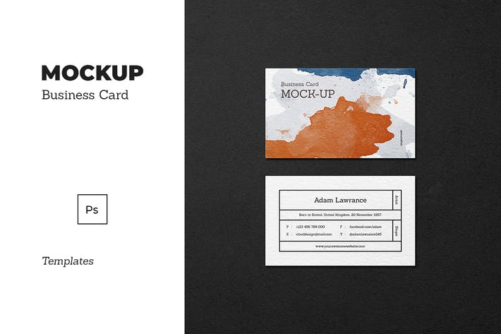 Thumbnail for Mockup Business Card