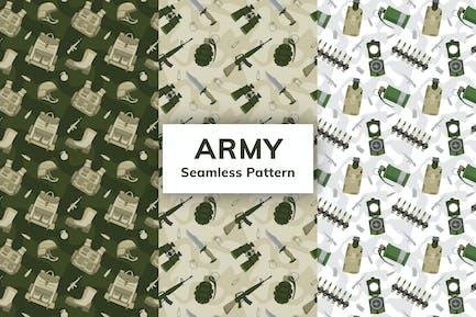 Armee-nahtloses Muster