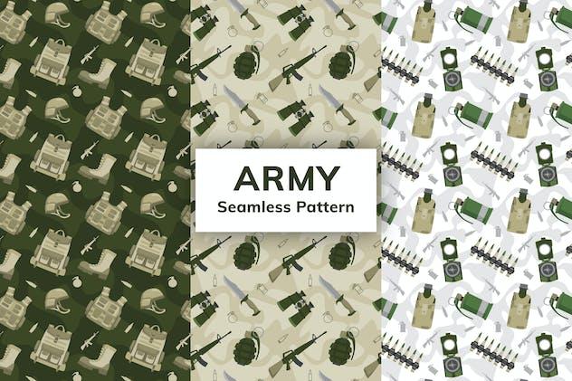 Army Seamless Pattern