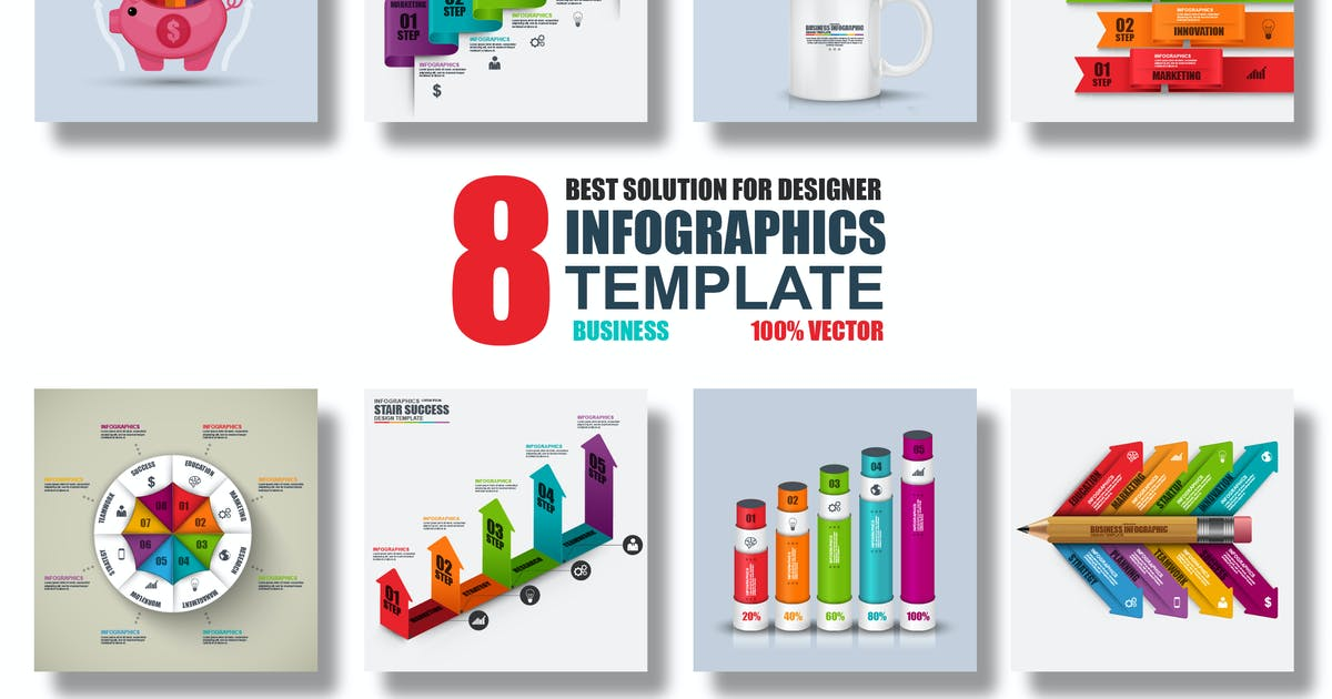 Download Vector Infographics Template by alexdndz