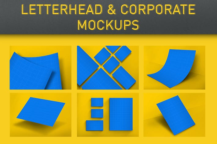 Thumbnail for Letterhead & Corporate Mockups