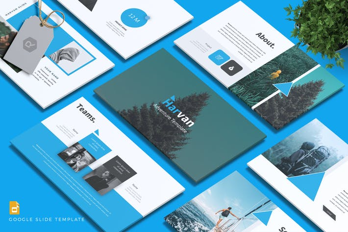 Cover Image For HARVAN - Adventure Google Slides Template
