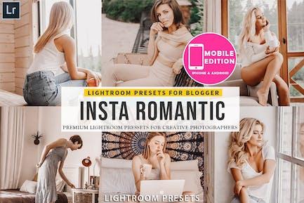 Insta романтические пресеты Lightroom