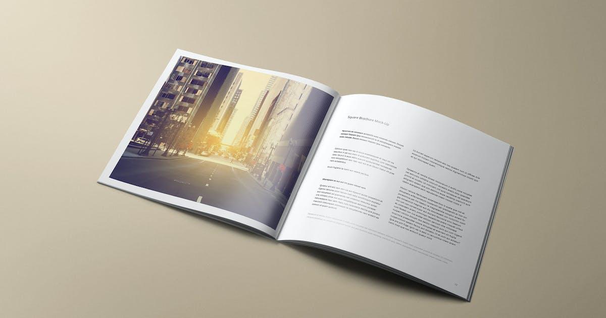 Square Brochure Mockup by Genetic96