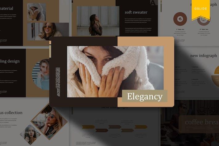 Thumbnail for Elegancy   Google Slides Template