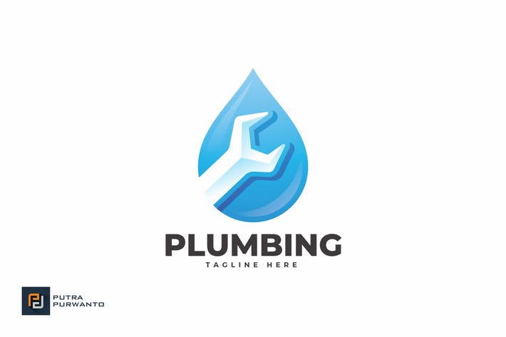 Plumbing - Logo Template