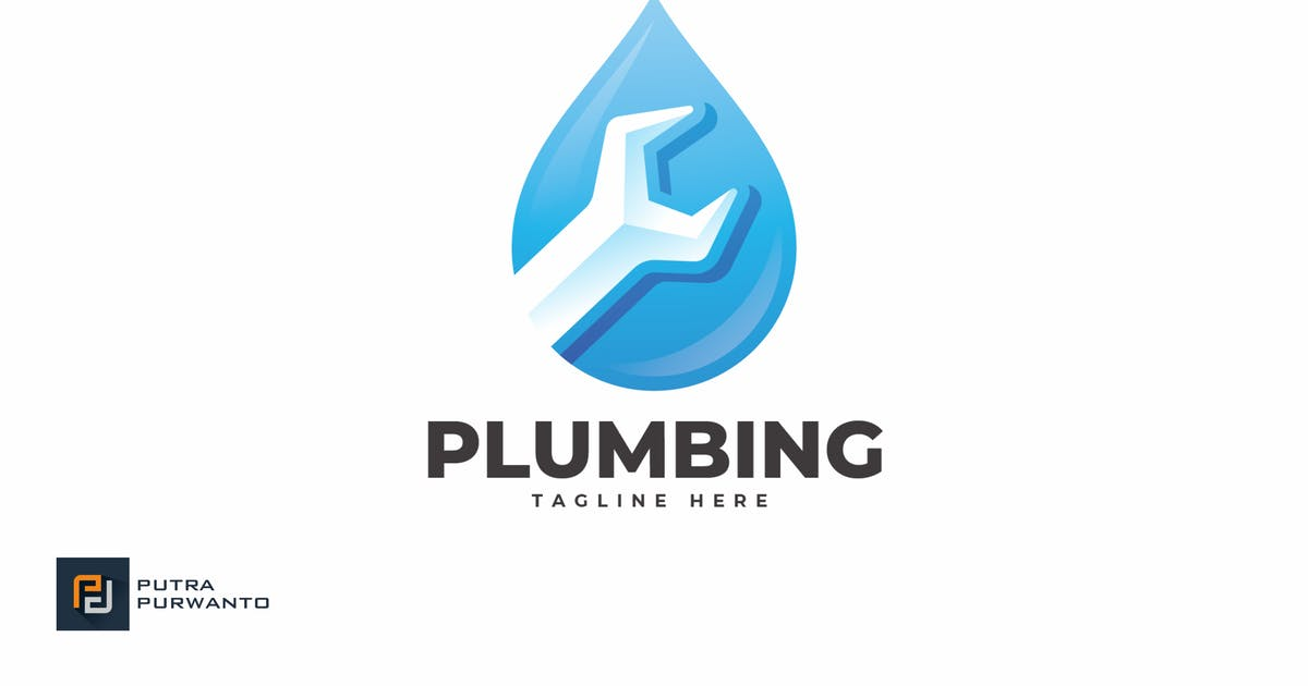 Download Plumbing - Logo Template by putra_purwanto