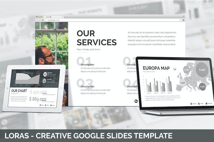 Thumbnail for Loras - Creative Google Slides Template