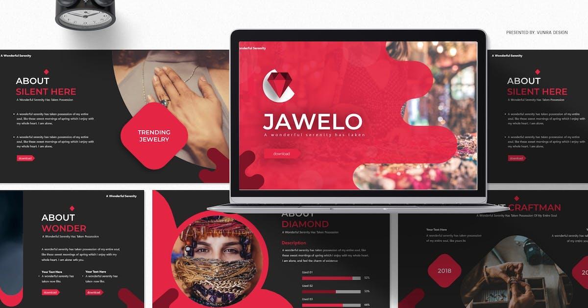 Download Jawelo | Google Slides Template by Vunira