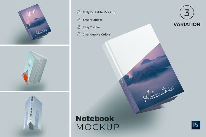 Thumbnail for Note Book Mockups