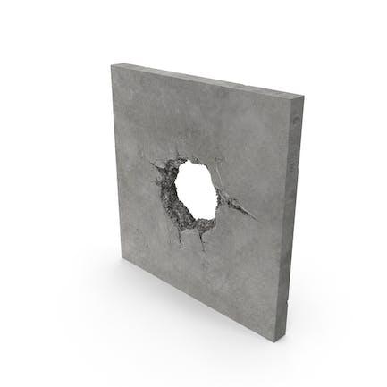 Structural Impact in Beton (Kanonenkugel)