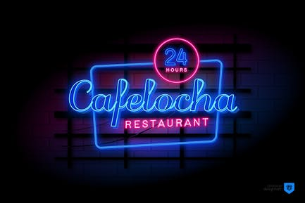 Neon Text Effects Vol.02