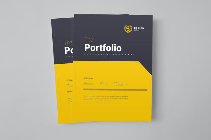 Thumbnail for Portfolio Template