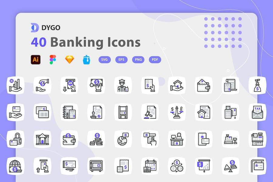 Dygo - Banking Icons