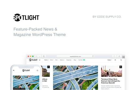 Spotlight - Fast News & Magazine WordPress Theme
