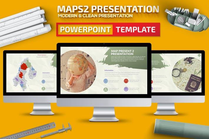 Thumbnail for Maps Powerpoint