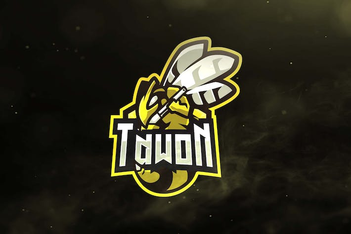 Thumbnail for Tawon Sport and Esports Logos