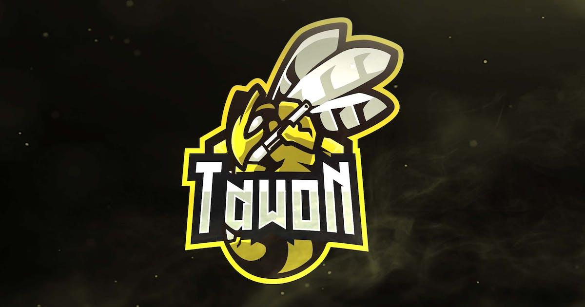 Tawon Sport and Esports Logos by ovozdigital