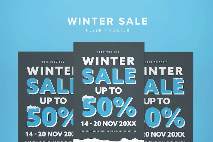 Thumbnail for Winter Sale Flyer