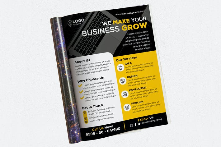 Thumbnail for We Make Your Business Grow Ads Magazine