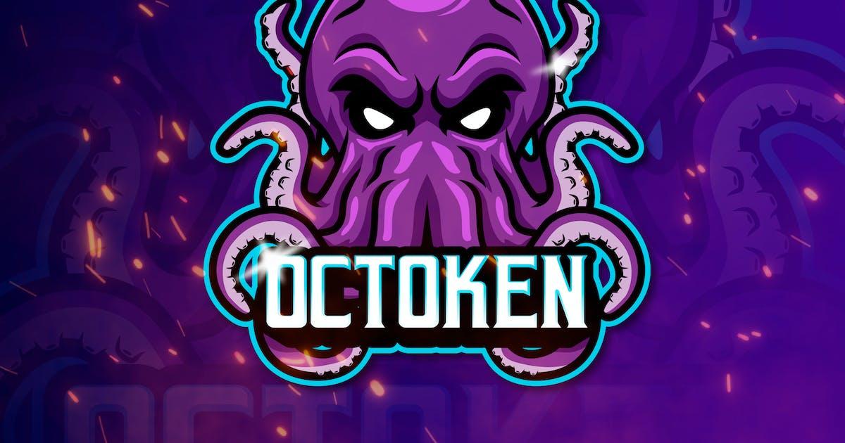 Download OCTOKEN -Mascot & Esports Logo by aqrstudio