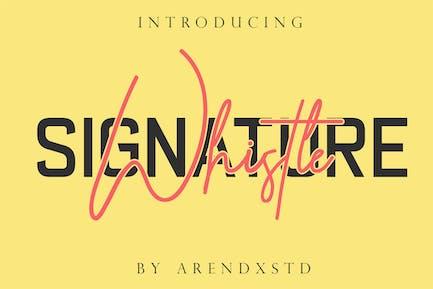 Silbato Casual Signature