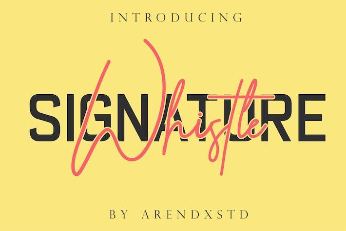 Thumbnail for Sifflet Signature décontractée