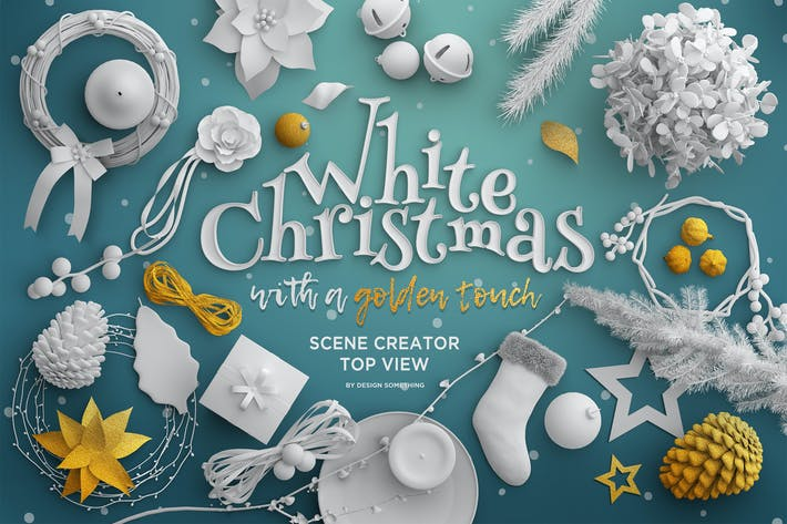 Cover Image For Christmas Top View Scene Creator