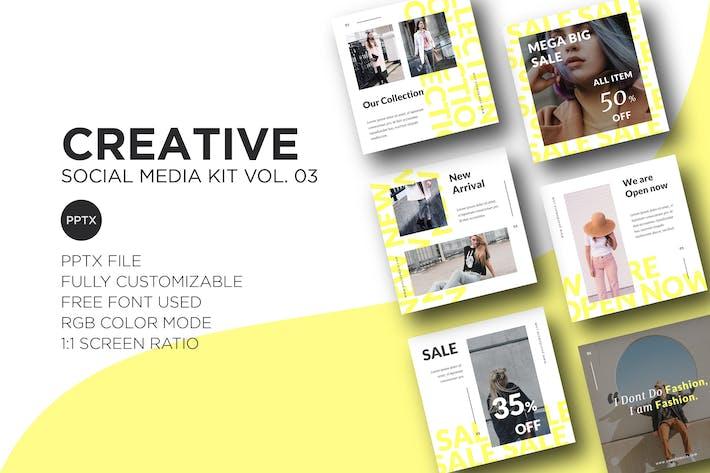 Thumbnail for Creative Social Media Kit Vol. 03