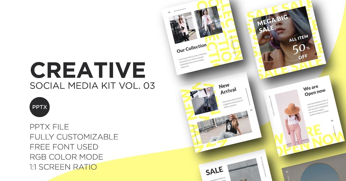 Download Creative Social Media Kit Vol. 03 by CocoTemplates